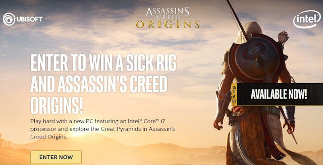 Stream Like a Pro Assassin's Creed Sweepstakes