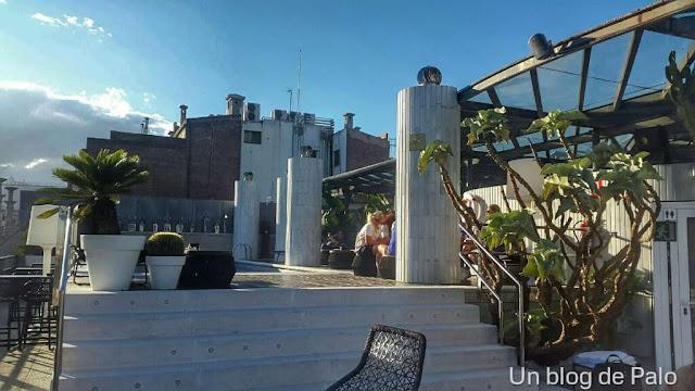 Terraza Hotel Claris Grand Luxe