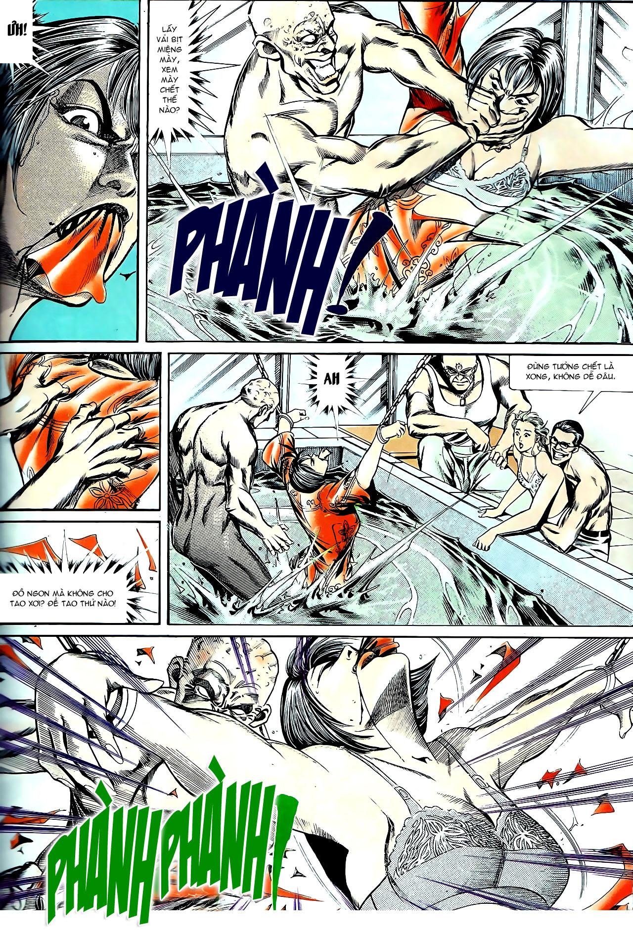 Người Trong Giang Hồ chapter 140: vây giết a khôn trang 18