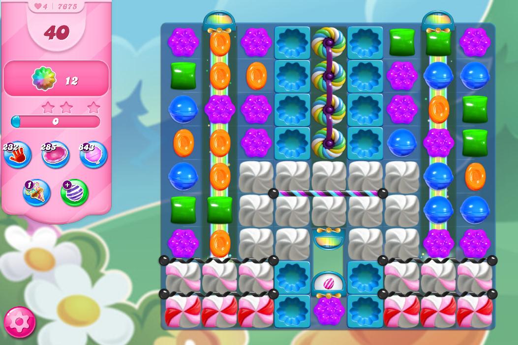 Candy Crush Saga level 7675