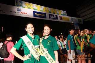 Miss Earth 2011 Winners to be crowned in manila, Run for Pasig River