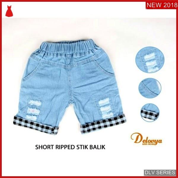 DLV15S32 Short Pant Anak Ripped Celana Pendek Balita Murah BMG