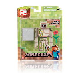 Minecraft Series 2 Iron Golem Overworld Figure