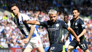 Brighton vs Manchester City 1-4 Highlights