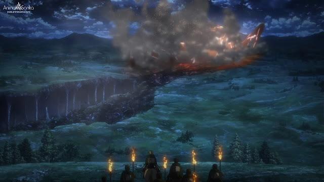 جميع حلقات انمى Shingeki no kyojin الموسم الثالث الجزء الأول بلوراي BluRay مترجم أونلاين كامل تحميل و مشاهدة