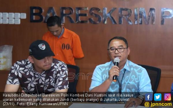 Unggah Gambar Jokowi Antek PKI, Jundi Dibekuk Polisi