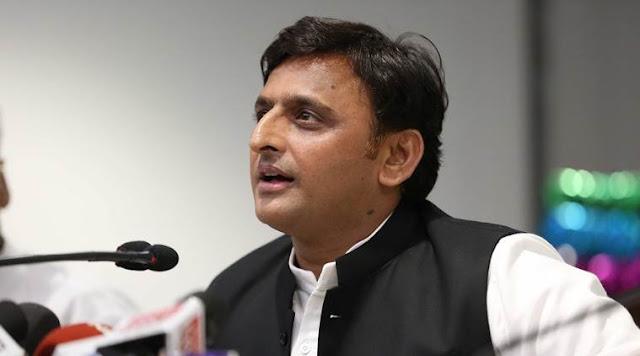 नए पीएम के साथ यूपी को नया मुख्यमंत्री भी चाहिए है: अखिलेश यादव