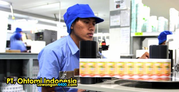 Lowongan Kerja PT. Ohtomi Kawasan Industri MM2100