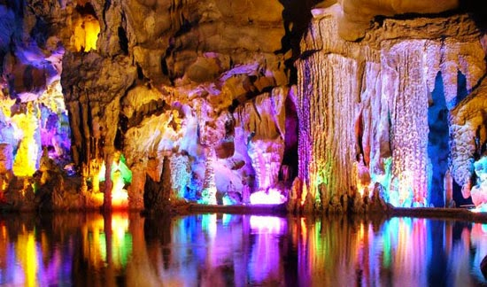 Reed Flute Cave, China - 6 Caves That Are Pure Magic