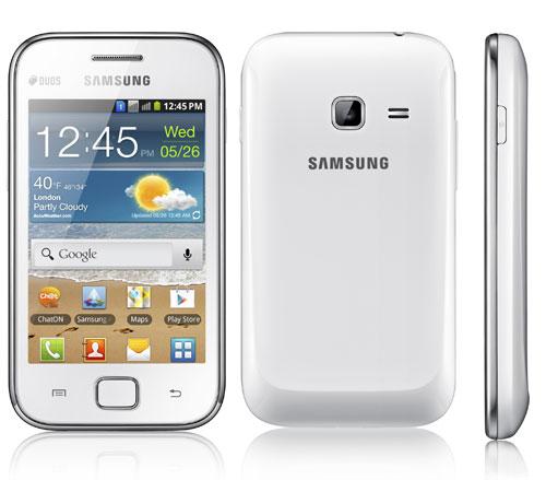 Setelah beberapa ketika kemudian Samsung merilis  Samsung Galaxy Ace DUOS, Ponsel Android dengan Fitur Dual SIM On