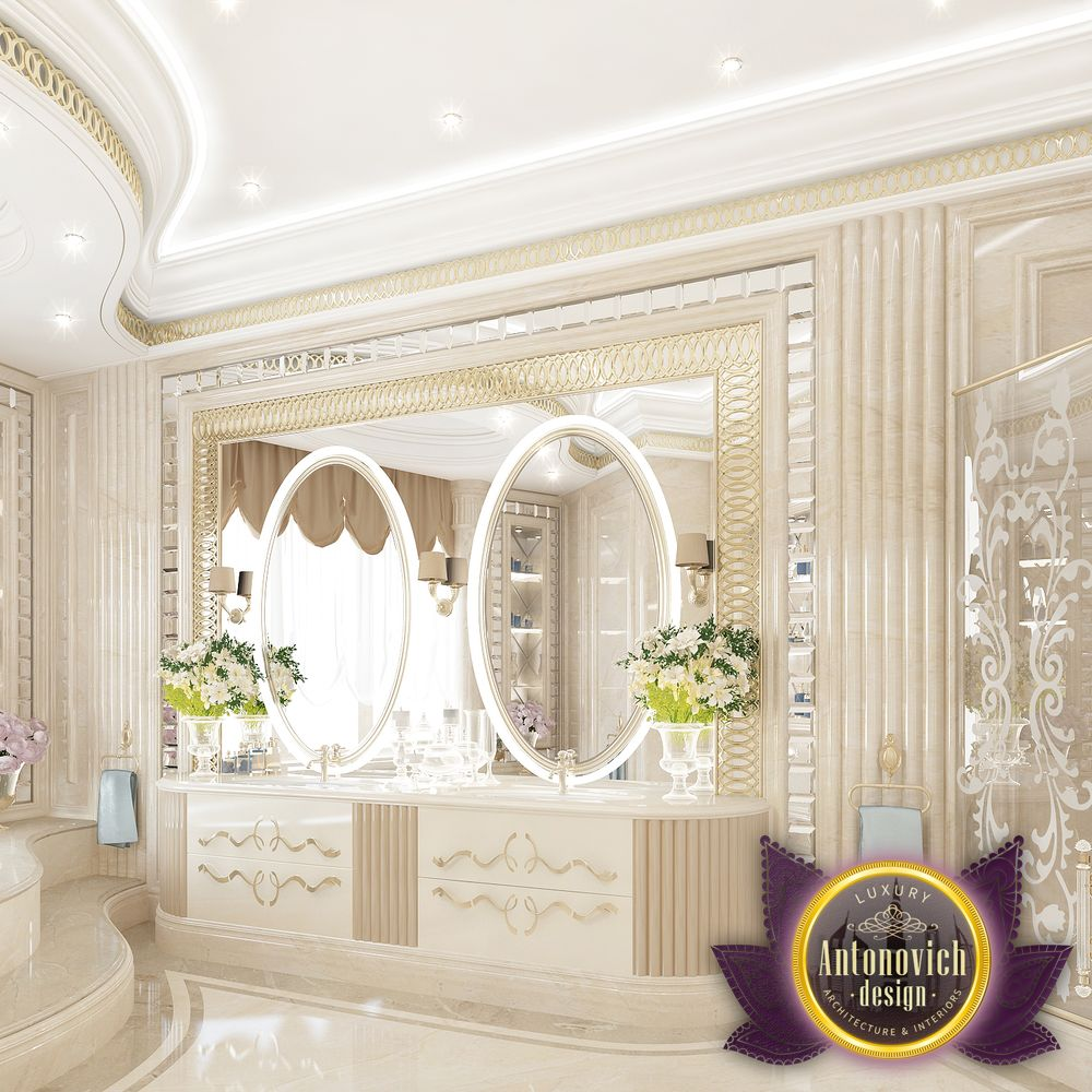 Nigeiradesign the bathroom interior of luxury antonovich design Bathroom interior design 2016