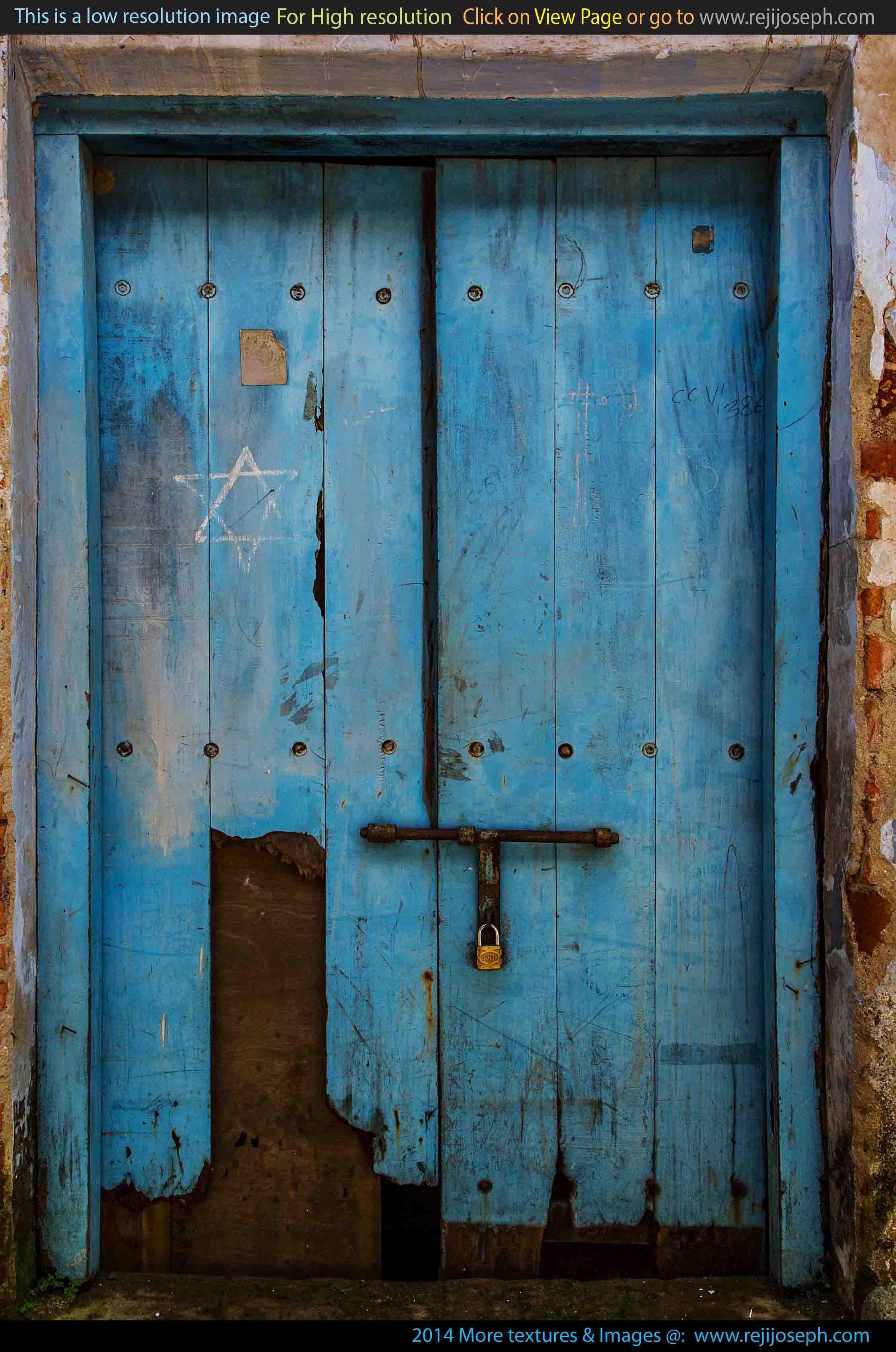 Old Wooden Door texture 00004