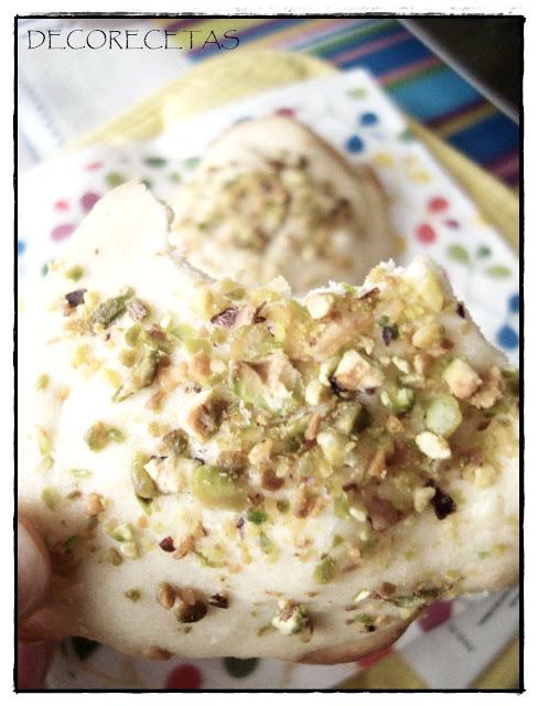 Galletas de pistachos