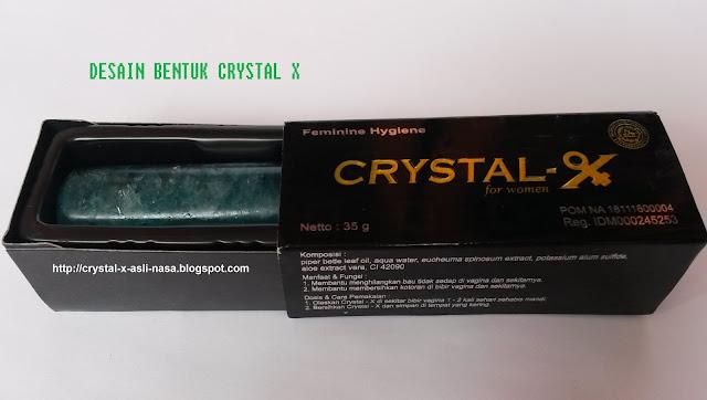 Miss V Bau ? Gunakan Crystal X
