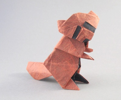 How to make a traditional talking origami fox: page 1 | 330x400