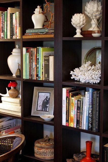 Bookshelf Decorating Ideas Pinterest: Ethnic Cottage Decor: Bookshelf Styling Ideas And Tips