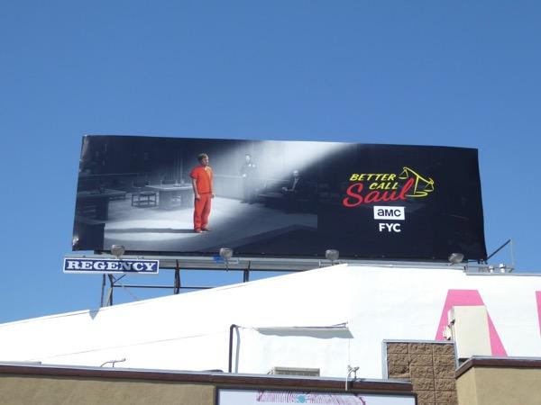 Better Call Saul season 3 Emmy FYC billboard