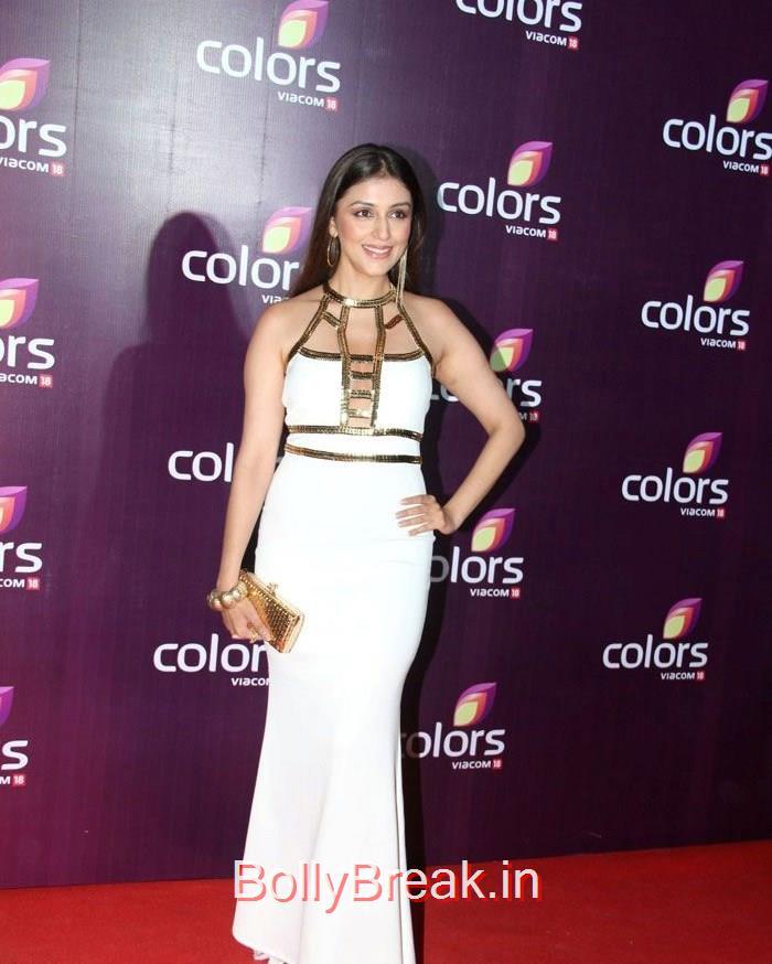Aarti Chabbria, Lauren Gotlieb Sonali Kulkarni Urvashi Rautela Hot Pics At Colors Leadership Awards 2015