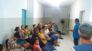 JUQUIÁ REALIZA 1ª PRÉ-CONFERÊNCIA DE SAÚDE NO BAIRRO DE CEDRO