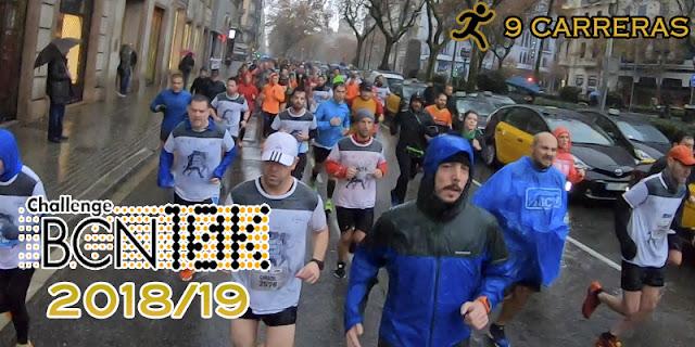 ChallengeBCN10K 2018/19 - 9 carreras