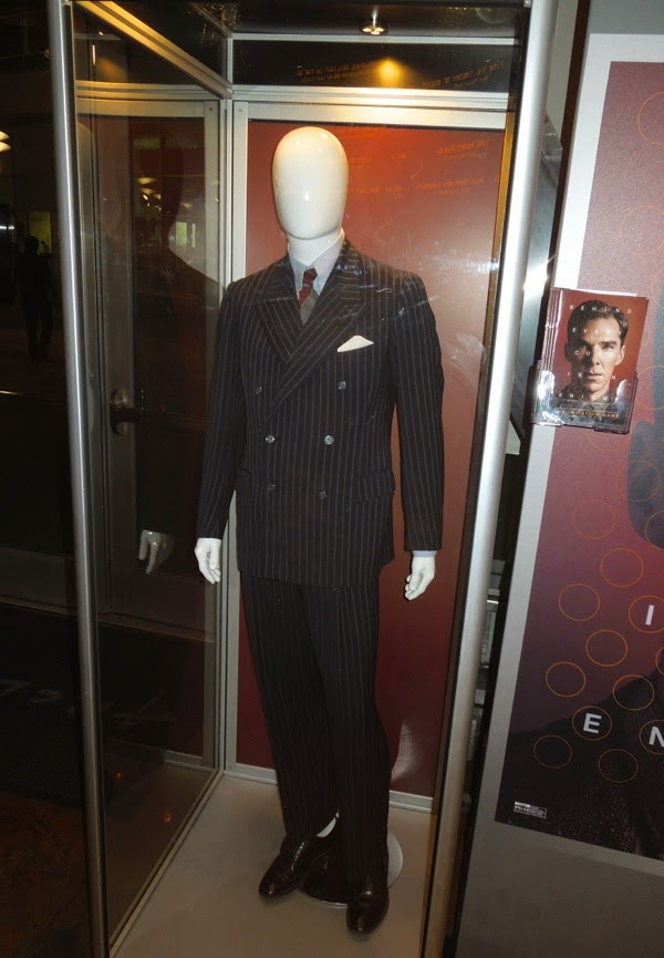 Mark Strong The Imitation Game Stewart Menzies suit