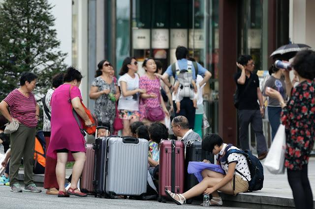 Chineses elegem Japão como destino preferido para turismo e compras