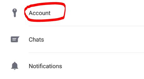 Cara hilangkan centang 2 whatsapp