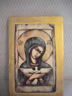 192 — Matka Boża z gołębicą ….