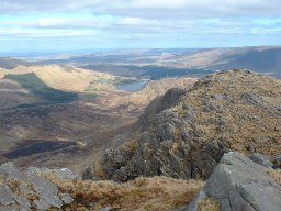View from Ben Gorm.  Photographer Robert Bone. Source Wikipedia.