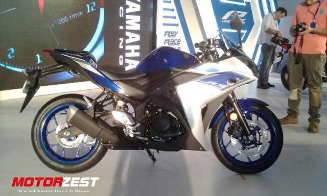 Yamaha R3 Racing Blue launch in India