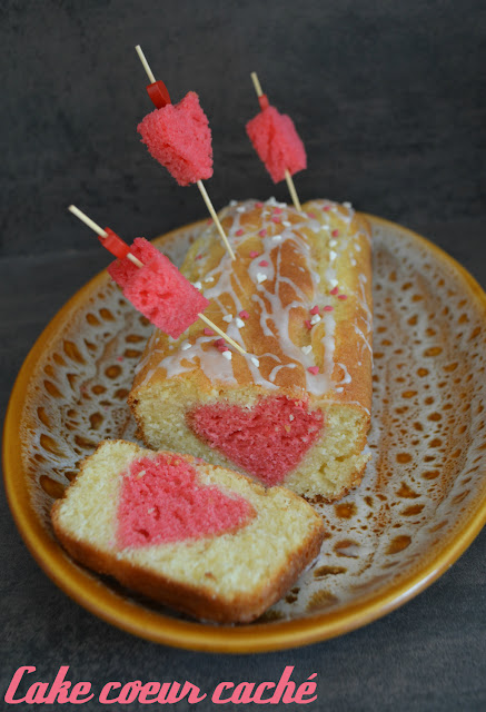 Cake coeur caché