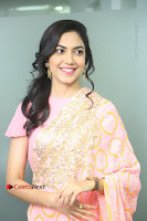 Actress Ritu Varma Pos in Beautiful Pink Anarkali Dress at at Keshava Movie Interview .COM 0070.JPG