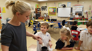 Catholic First Graders Make a Chilly Discovery 1