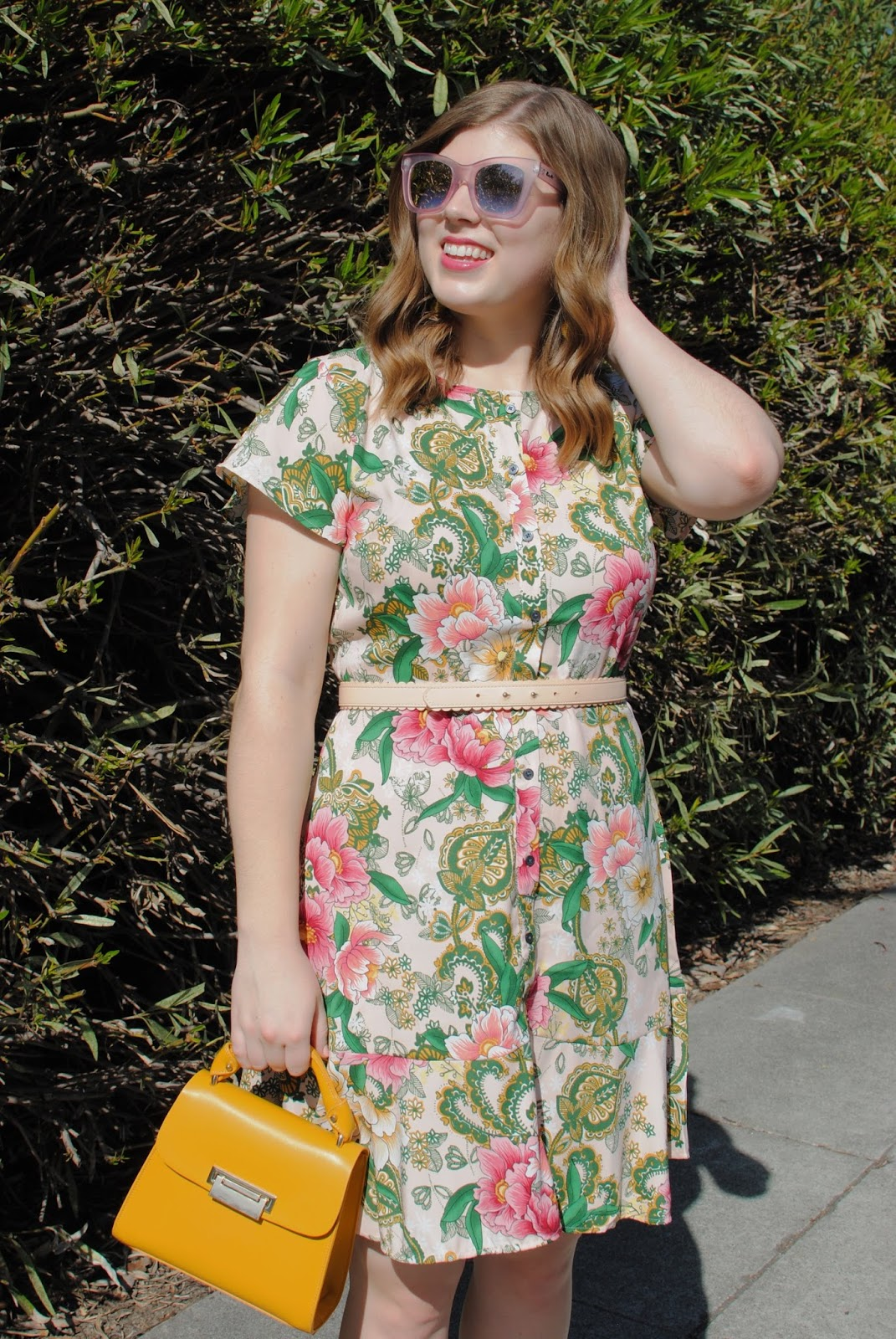 loft-camellia-floral-dress