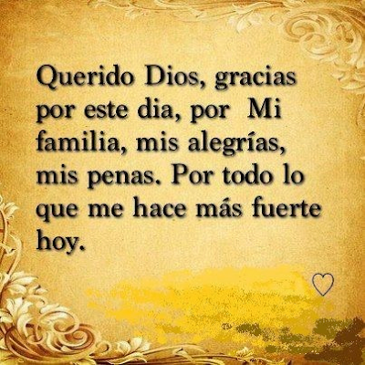 Cortas Oraciones De Dios Gracias Señor Imágenes