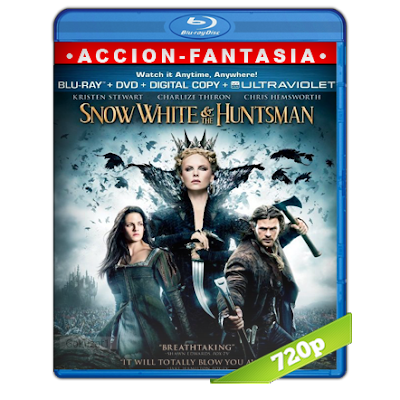 Blancanieves Y El Cazador (2012) BRRip 720p Audio Trial Latino-Castellano-Ingles 5.1