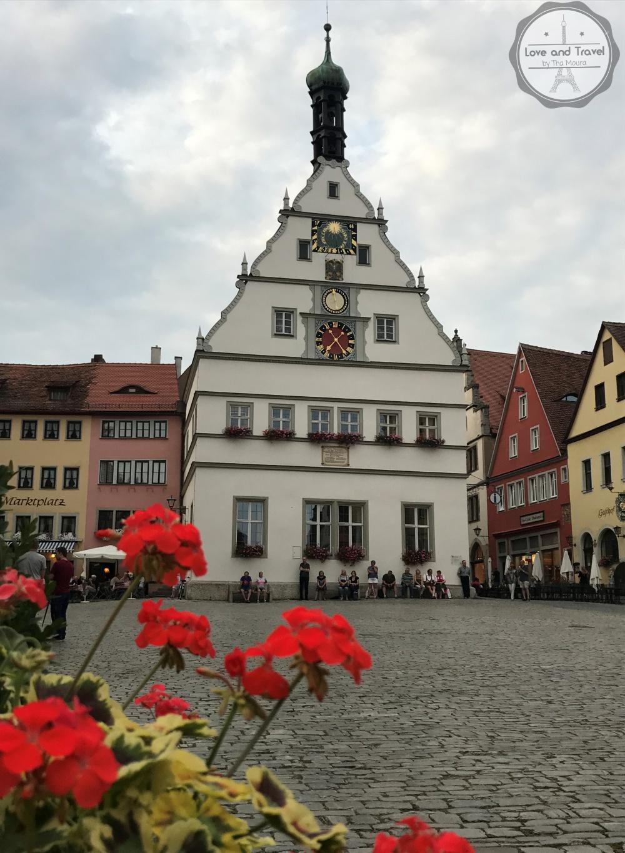 Rothenburg Ob Der Tauber, na Rota Romântica da Alemanha - Markplatz