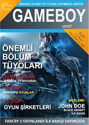 Oyun Dergisi Tasarımı