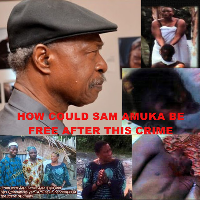 VANGUARD: HOW IMMEDIATE ARREST OF VANGUARD CEO SAM AMUKA FOR SPONSORING THE RITUAL KILLING OF THE 14 YEAR OLD BOY.