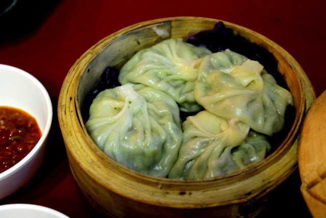Authentic Vegetarian Tibetan Momo