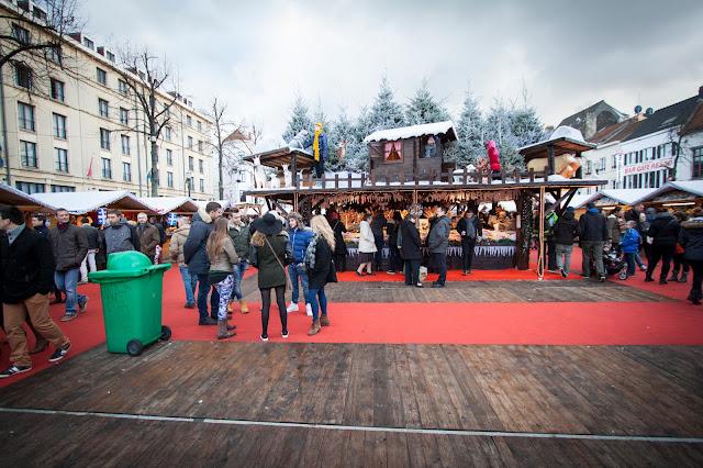 Mercatini di Natale a place Ste-Catherine-Bruxelles