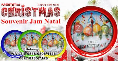 Jam dinding natal dan tahun baru, Jam Dinding Kaca Natal Harga Murah, Jam Dinding Unik Dengan Gambar Tema Natal