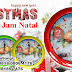 Souvenir Jam Natal – Jam dinding Natal