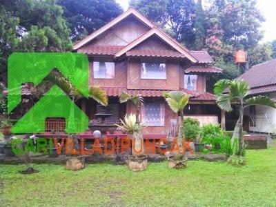 Sewa villa kayu
