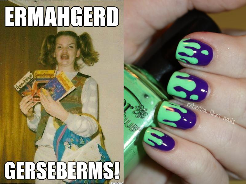 rebecca likes nails: 31dc2012 - day 29