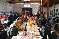 Comida y romería populares de Lutxana