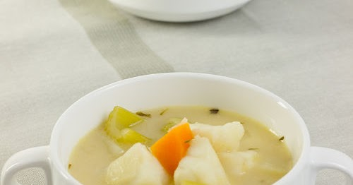 忌廉雜菜魚湯【輕食西餐湯】 Creamy Fish Vegetable Soup | 簡易食譜 - 基絲汀: 中西各式家常菜譜