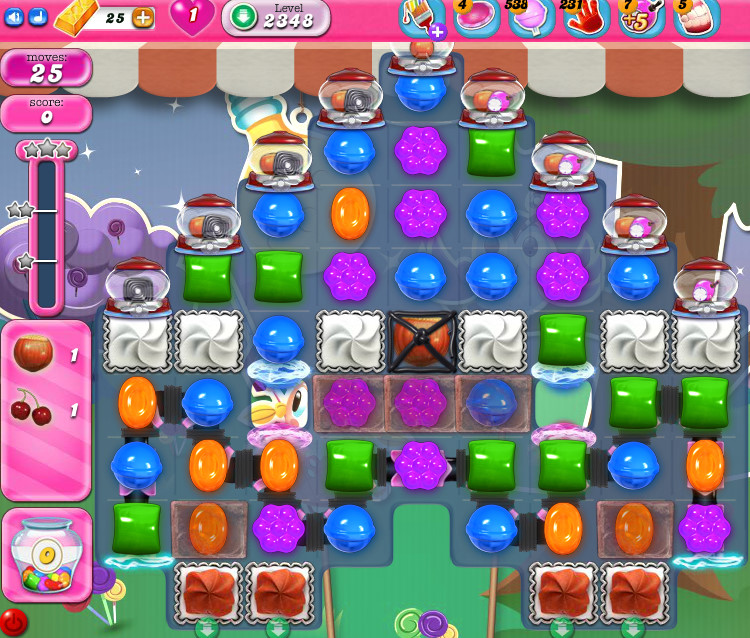 Candy Crush Saga level 2348