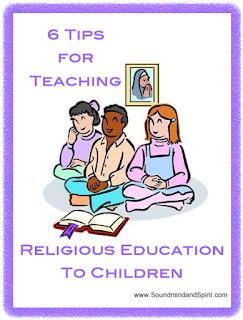 6 Tips for Teaching Religious Education to Children