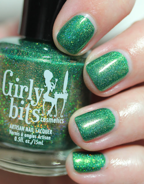 Girly Bits Cosmetics They're After Me Lucky Charms March 2017 CoTM